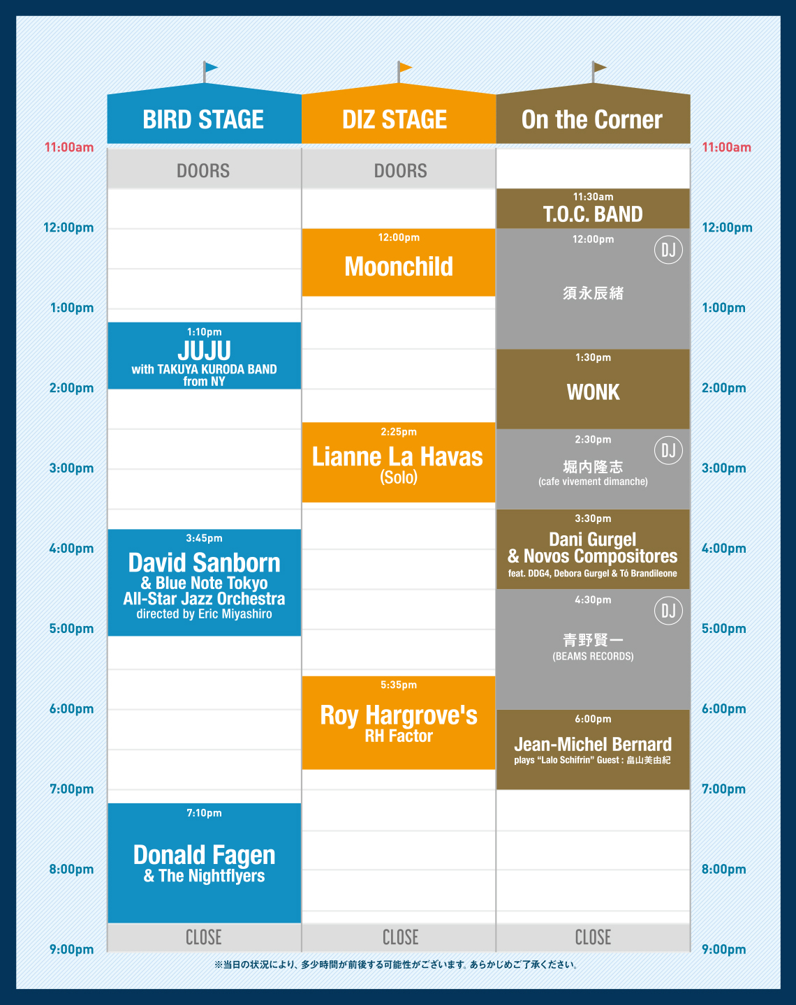TIMETABLE - 9/23
