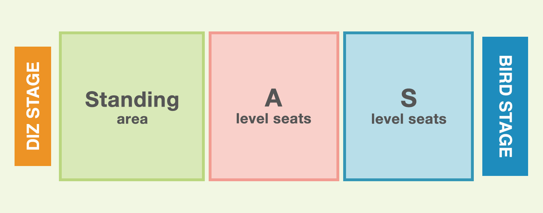 seats map