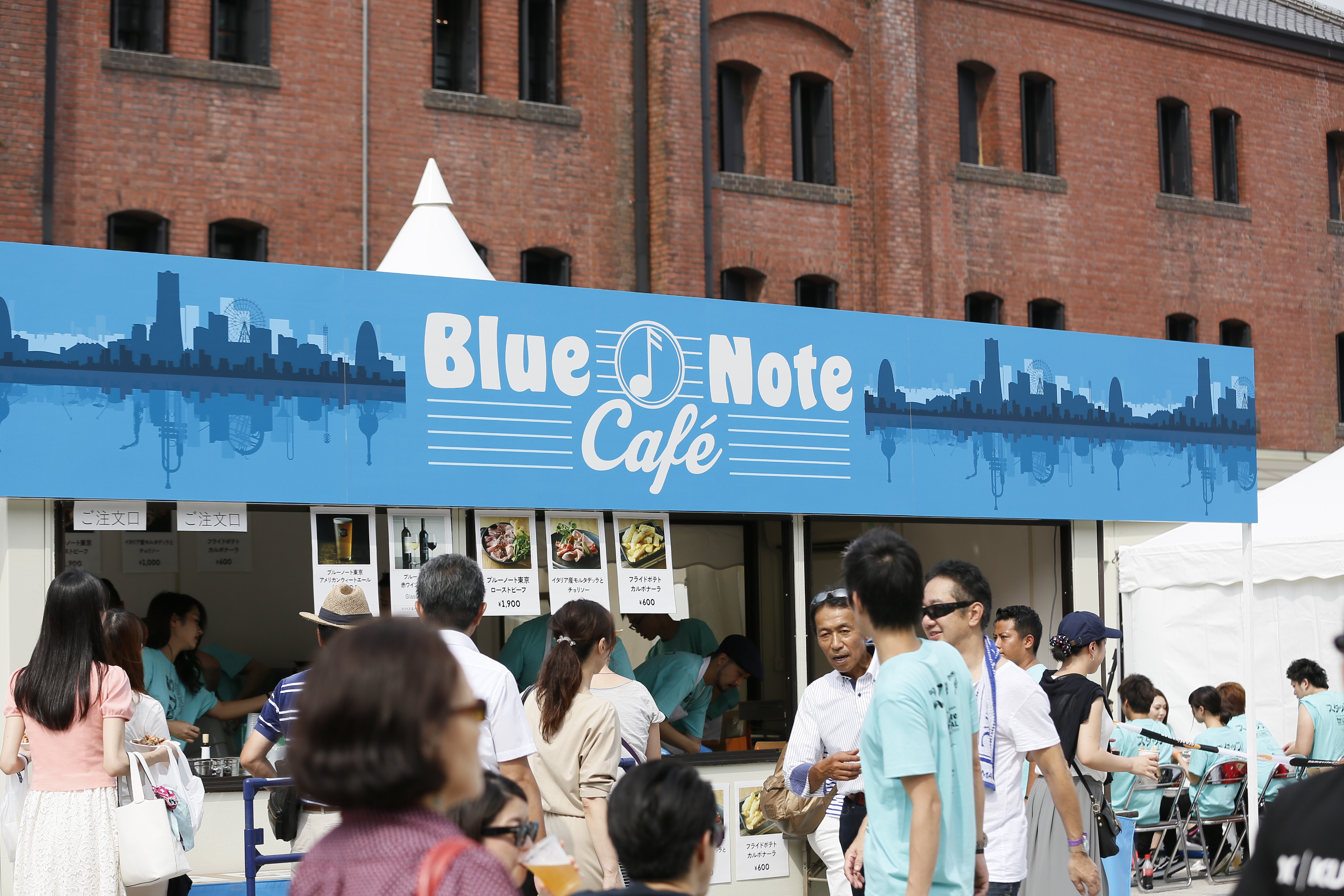 BNJF限定カフェ『Blue Note café』&人気店のキッチンカーが登場!